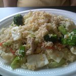 PJ Fried Rice (house fried rice with chicken)