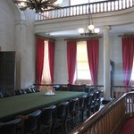 The confederation conference room