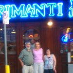 The gang outside of The 18th St Primanti Bros