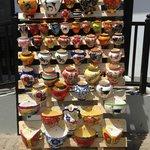 Jarrones para pared en cerámica. hechos a mano