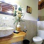 Our spacious bathrooms