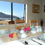 Wonderful breakfasts at Harbour view Lodge