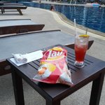 happy hour at the pool