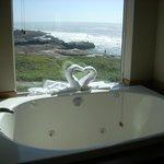 View of Whirlpool tub