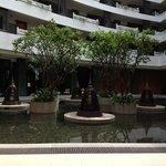 Front lobby atrium