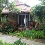 beach-side villa