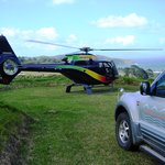 Earthsong private helipad