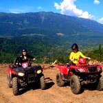 Happy Riders enjoying the back roads of BC!