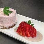 Homemade Strawberry Cheescake