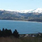 "View from the Kaikoura "" Look out"" point"