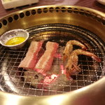 Great tasting meat and seafood