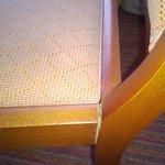 Chaise qui se déboite