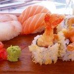 Small sushi platter