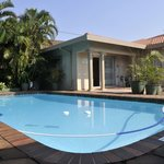 Swimming pool and self-catering unit