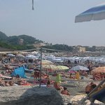 Beach in Sestri Levante