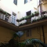 Courtyard at Hotel Navona