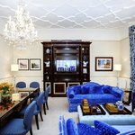 Large blue sitting room