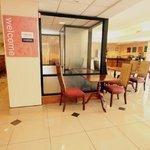 Business Center / Breakfast Area