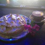 Housemade Lemon meringue pie.. by chef Roxy McDonald