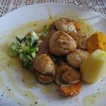 foie gras au saint jacques