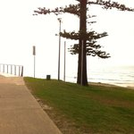 the Kirra beach park
