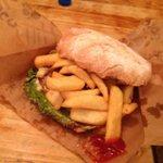 A Poco Loco burger