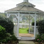 Gazebo with view of river