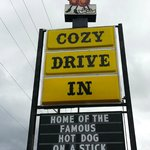 Cozy Drive In Sign