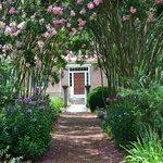 Entrance into garden