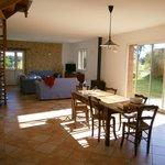 Lovely kitchen/living room