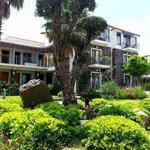 otelin yeşil bahçesi