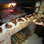 il mitico forno dove Julio cuoce la carne!