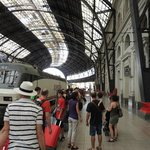 The Trenhotel at Barcelona's Estacio de França