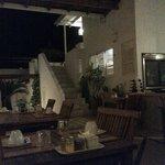Comedor y terraza arriba