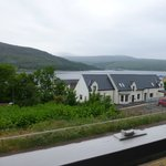 View of Loch Linnhe from Room 1 (top floor twin)