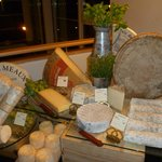 Several kinds of French cheeses