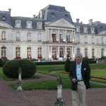 Exquisite facade of the Chateau D'Artigny