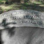 Mark Twain tombstone