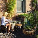 Rooftop terrace garden Weinhard Hotel