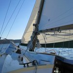 About 5 knots on Puget Sound