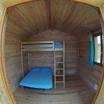 cabane chambre 2/3 personnes