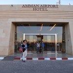 the hotel Queen Alia gate