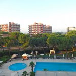 Swimming pool at the Holiday Inn