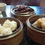 Char Siu Bau, Sui Mai and Chicken's Feet