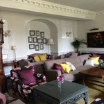 The Main Sitting Room that greets you upon entering the hotel