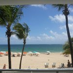 View of Ocean Park Beach from Common Room