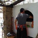 Grill at Kiki's Tavern in Mykonos