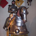 Arms and Armour display