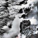 Crashing sea ((dramatic filter)