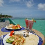 Delicious Fish Tacos on the Caribbean